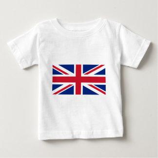 """Camiseta De Bebé Bandera BRITÁNICA """"Union Jack """" de Reino Unido del"""