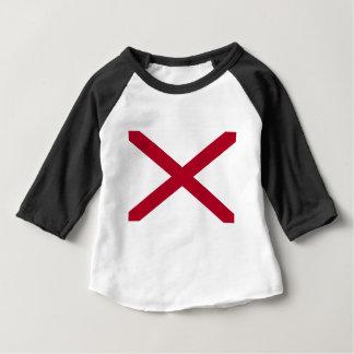 Camiseta De Bebé Bandera de Alabama