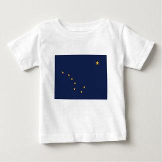 Camiseta De Bebé Bandera de Alaska