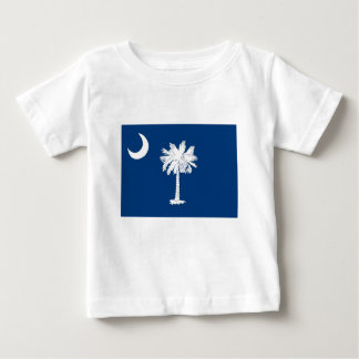 Camiseta De Bebé Bandera de Carolina del Sur