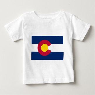 Camiseta De Bebé Bandera de Colorado