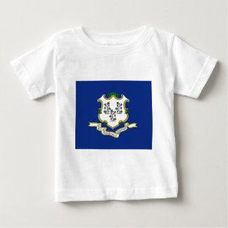 Camiseta De Bebé Bandera de Connecticut