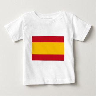 Camiseta De Bebé Bandera de España, Bandera de España, Bandera