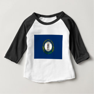 Camiseta De Bebé Bandera de Kentucky