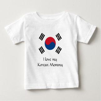 Camiseta De Bebé Bandera de la Corea del Sur
