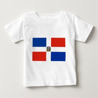 Camiseta De Bebé Bandera de la República Dominicana