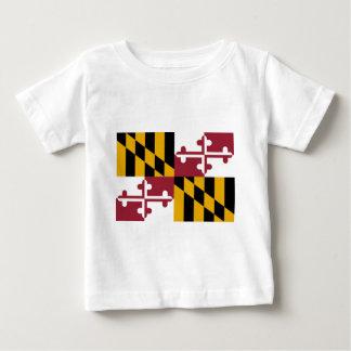 Camiseta De Bebé Bandera de Maryland