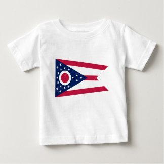 Camiseta De Bebé Bandera de Ohio