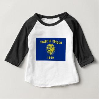Camiseta De Bebé Bandera de Oregon