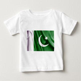 Camiseta De Bebé Bandera de Paquistán