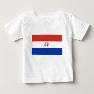 Camiseta De Bebé Bandera de Paraguay - Bandera de Paraguay