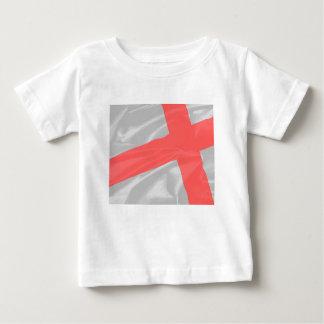 Camiseta De Bebé Bandera de seda de San Jorge