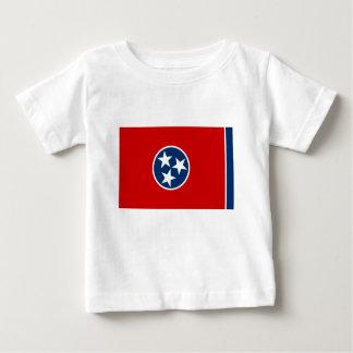 Camiseta De Bebé Bandera de Tennessee