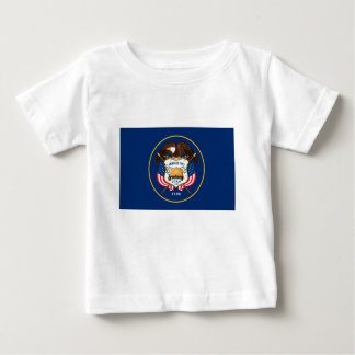 Camiseta De Bebé Bandera de Utah
