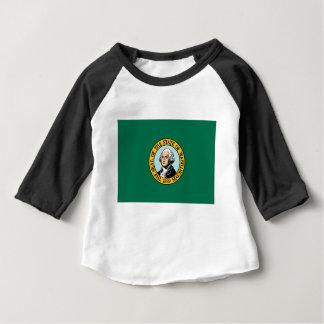 Camiseta De Bebé Bandera de Washington