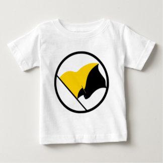 Camiseta De Bebé Bandera del capitalismo de Anarcho