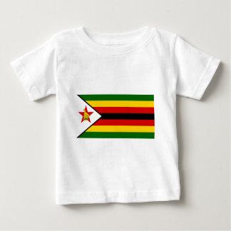 Camiseta De Bebé Bandera del weZimbabwe de Zimbabwe - de