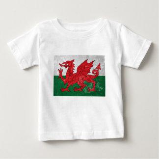 Camiseta De Bebé Bandera Galés