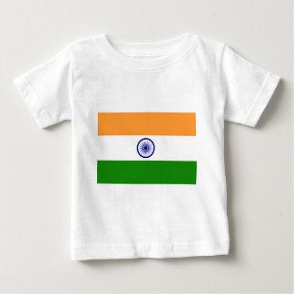 """Camiseta De Bebé Bandera india """"Tiranga """" del buen color"""