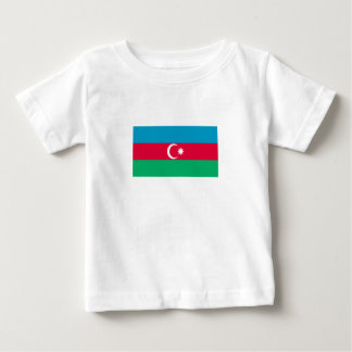 Camiseta De Bebé Bandera patriótica de Azerbaijan
