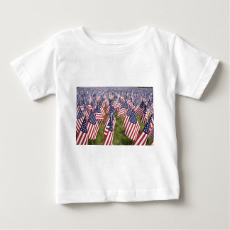 Camiseta De Bebé Banderas del Memorial Day