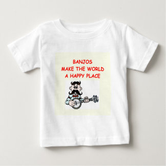 Camiseta De Bebé banjos