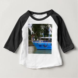 Camiseta De Bebé Barco de cruceros de Danubio, Durnstein, Austria