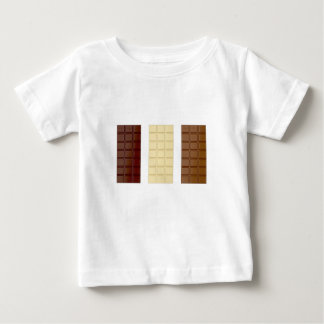 Camiseta De Bebé Barras de chocolate