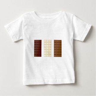 Camiseta De Bebé Barras de chocolate