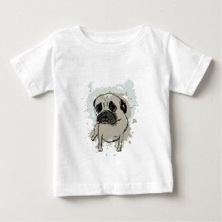 Camiseta De Bebé Barro amasado de la salpicadura