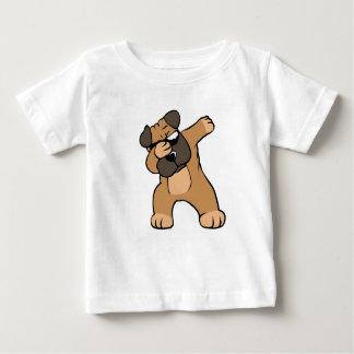 Camiseta De Bebé Barro amasado que frota divertido