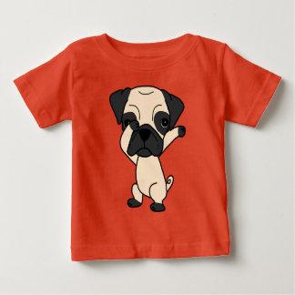 Camiseta De Bebé Barro amasado que frota lindo