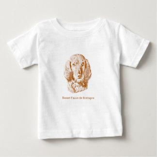 Camiseta De Bebé Basset Fauve de Bretaña