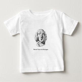 Camiseta De Bebé Basset Fauve de Bretaña Drawing