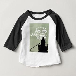 Camiseta De Bebé Bastante fuerte vivir esta vida
