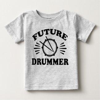Camiseta De Bebé Batería futuro