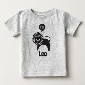 Camiseta De Bebé Bebé Camiseta-Leo del zodiaco