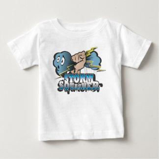 Camiseta De Bebé Bebé de Squasher de la tormenta