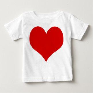 Camiseta De Bebé bebé del corazón