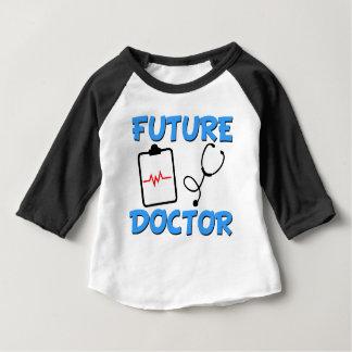 Camiseta De Bebé Bebé divertido del doctor futuro
