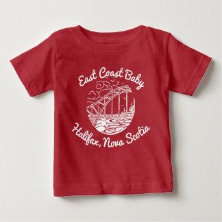 Camiseta De Bebé Bebé Halifax Nueva Escocia Canadá de la costa este