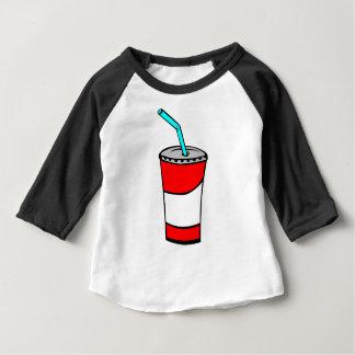Camiseta De Bebé Bebida de los alimentos de preparación rápida