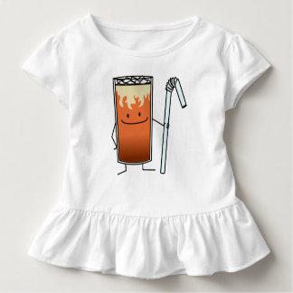 Camiseta De Bebé Bebida feliz Tailandia del té helado tailandés y