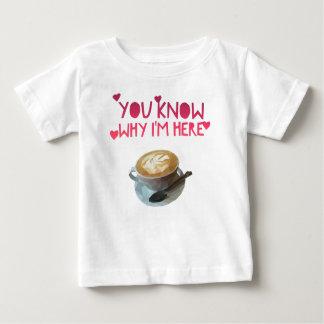 Camiseta De Bebé Beca bebida anónima del AA del café