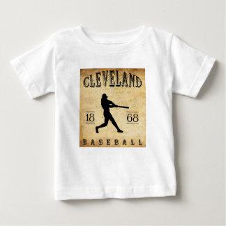 Camiseta De Bebé Béisbol 1868 de Cleveland Ohio