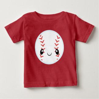 Camiseta De Bebé Béisbol de Emoji