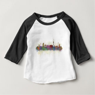 Camiseta De Bebé Berlin city Germany. Deutsche Skyline art v2