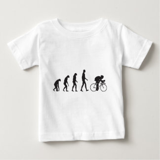 Camiseta De Bebé Bici de la evolución