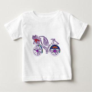Camiseta De Bebé Bicicleta