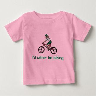 Camiseta De Bebé BikeChick bastante